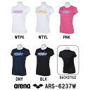 ●●【ARS-6237W】ARENA(アリーナ) ファインスムース レディース Tシャツ[レディス/ウィメンズ/ウイメンズ/アパレル/女性用/トレーニングウェア]