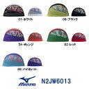 ●●【N2JW6013】MIZUNO(ミズノ) メッシュキャップ【Fusion with water】[水泳帽/スイムキャップ/スイミング/プール/水泳小物]