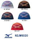●●【N2JW6020】MIZUNO(ミズノ) メッシュキャップ[水泳帽/スイムキャップ/スイミング/プール/水泳小物]