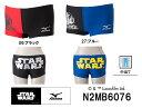 ●●【50%OFF!!】【N2MB6076】MIZUNO(ミズノ) メンズ競泳練習水着 EXER SUITS U-Fit ショートスパッツ【Star Wars】...