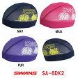 【SA-6DK2】SWANS(スワンズ) 限定メッシュキャップ【DORAEMON・HELLO KITTY】[水泳帽/スイムキャップ/スイミング/プール/水泳小物/ドラえもん/ハローキティ]