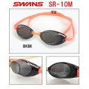 【水泳ゴーグル】【SR-10M-BKBK】SWANS(スワンズ) ノンクッションスイムゴーグル スナイパー(ミラータイプ)[FINA承認モデル/スイミング/水泳...