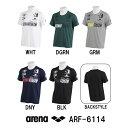 【ARF-6114】ARENA(アリーナ) エステルドライニット Tシャツ[トレーニングウェア/ユニセックス/メンズ/レディース/吸汗速乾]【10P03Dec16】
