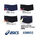 【ASM802】asics(アシックス) メンズ競泳練習水着 REPEATEX2 POWER SUITS ボックス