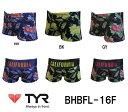【BHBFL-16F】TYR(ティア) メンズトレーニング水着 HB FLOWER(ハンティントンビーチ フラワー) メンズショートボクサー[練習用水着/ショー...