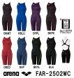 【FAR-2502WC】ARENA(アリーナ) レディース競泳水着 X-PYTHON ハーフスパッツ[競泳水着/女性用/スパッツ/FINA承認]