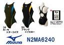 ●●【N2MA6240】MIZUNO(ミズノ) レディース競泳用水着 Stream Aqutiva ストリームフィット ローカット(オープン)[競泳水着/女性用...