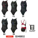 【SD46B02】SPEEDO(スピード) レディース競泳水着 Fastskin XT Active Hybrid2 ウイメンズエイムカットスーツ[女性用/競泳...