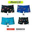 【SD66X59】SPEEDO(スピード) ジュニア男子競泳練習水着 DREAM TEAM UV FLEX ジュニアトレインボックス[子供用/女の子水着/競泳/選手/練習用/トレーニング/長持ち]
