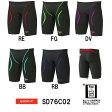 【SD76C02】【紙箱なし】SPEEDO(スピード) メンズ競泳水着 Fastskin XT Active Hybrid2 メンズジャマー[男性用/ニット素材/選手向き/FINA承認/ハーフスパッツ]