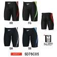 【SD76C05】SPEEDO(スピード) メンズ競泳水着 FLEX Σ メンズジャマー7[男性用/競泳/ハーフスパッツ/FINA承認]
