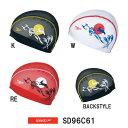 ●●【SD96C61】SPEEDO(スピード) メッシュキャップ【お月見・うさぎ】[水泳小物/スイムキャップ/水泳帽/スイミング]