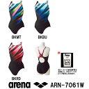 【ARN-7061W】ARENA(アリーナ) レディース競泳水着 UROKO SKIN セイフリーバック(着やストラップ)[競泳/女性用/背開きタイプ/FINA...