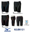 【N2JB6121】MIZUNO(ミズノ) メンズフィットネス水着 BG SWIM ハーフスパッツM[男性用/浮力水着/スパッツ/骨盤サポート/バイオギア]