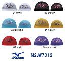 【N2JW7012】MIZUNO(ミズノ) メッシュキャップ【パンダ セイッセイッ!】[水泳帽/スイムキャップ/スイミング/プール/水泳小物]