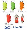 【N2MA7261】MIZUNO(ミズノ) レディース競泳練習水着 EXER SUITS U-Fit ミディアムカット[女性用/長持ち/練習用/選手/ワンピース]