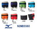 【N2MB5560】MIZUNO(ミズノ) メンズ競泳練習水着 EXER SUITS U-Fit ショートスパッツ[競泳/練習用/トレーニング/男性用/選手]