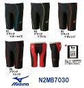 【N2MB7030】MIZUNO(ミズノ) メンズ競泳水着 FX・SONIC ソニックフィットAC・W ハーフスパッツ[競泳/男性用/スパッツ/ニット/布帛]