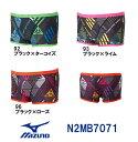 【N2MB7071】MIZUNO(ミズノ) メンズ競泳練習水着 EXER SUITS U-Fit ショートスパッツ[競泳/男性用/練習用/長持ち]