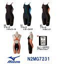 【送料無料】【N2MG7231】MIZUNO(ミズノ) レディース競泳水着 FX・SONIC ソニックフィットAC・W ハーフスーツ[競泳/女性用/スパッツ/ニ...