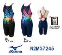 【送料無料】【N2MG7245】MIZUNO(ミズノ) レディース競泳水着 Stream Aqutiva ストリームフィット ハーフスーツ[競泳/女性用/FINA承認/背開きタイプ/スパッツ]