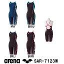 【SAR-7123W】ARENA(アリーナ) レディース競泳練習水着 タフスーツ タフスキン タフ-フライバックスパッツ[競泳水着/練習用/女性用/長持ち]