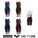 【SAR-7126W】ARENA(アリーナ) レディース競泳練習水着 タフスーツ タフスキンD タフ・フライバックスパッツ[競泳水着/女性用/練習用/長持ち]