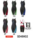 【SD46H02】【紙箱なし】SPEEDO(スピード) レディース競泳水着 Fastskin XT Active Hybrid2 ウイメンズニースキン[競泳/女...