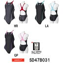 【SD47B031】SPEEDO(スピード) レディース競泳水着 FLEX Cube ウイメンズエイムカットスーツ[女性用/競泳/FINA承認/ワンピース]