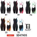【送料無料】【SD47H05】SPEEDO(スピード) レディース競泳水着 Fastskin XT Pro Hybrid2 ウイメンズニースキン[競泳水着/女性...
