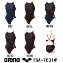 arena アリーナ 競泳練習用水着 レディース スイムウェア スイミング スーパーフライバック タフスーツ タフスキンフロウ 2017年FWモデル FSA-7601W