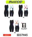 SPEEDO スピード ジュニア女子 スイムウェア スイミング 子供用 競泳水着 FLEX Σ ジュニアニースキン4 FINA承認モデル スパッツタイプ SD37H45-HK