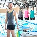 《今すぐ使えるクーポン配布中》スピード SPEEDO レディース フィットネス水着 AquaGym ウイメンズセパレーツ(縫込みパッド付き) 2017年秋冬モデル SD57S75-HK