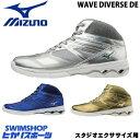【送料無料】MIZUNO ミズノ スタジオエクササイズ用フィットネスシューズ WAVE DIVERSE DE ウエーブダイバース K1GF1874