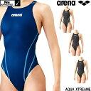 アリーナ ARENA 競泳水着 レディース fina承認 リミック(クロスバック) AQUA XTREAME 2021年春夏モデル ARN-1021W