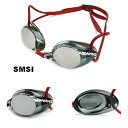 【SR-1MEV-SMSI】SWANS(スワンズ) ノンクッションスイムゴーグル(ミラータイプ)