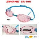 【SR-10N-PIN】SWANS(スワンズ) ノンクッションスイムゴーグル スナイパー(クリアタイプ)