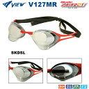 【水泳ゴーグル】【V127MR-SKDSL】VIEW(ビュー) ノンクッションスイムゴーグルBlade ZERO(ブレードゼロ)【ミラータイプ】[FINA承認モデル]