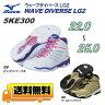 【送料無料】【5KE300】MIZUNO(ミズノ)フィットネスシューズ WAVE DIVERSE LG2(ウェーブダイバース LG2)[ダンス/エクササイズ]