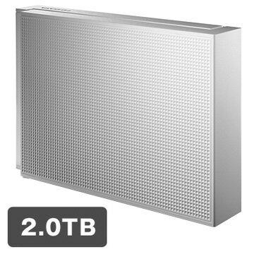 アイ・オー・データ機器 USB3.0対応 外付ハードディスク 2TB ホワイト HDCZ-UT2W