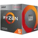 AMD CPU Ryzen 5 3400G クーラー付 (4C8T3.7Hz65W) YD3400C5FHBOX