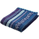 nishikawa ■ タオルケット 綿100% 軽い 吸水 ブルー RR00030000B