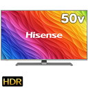 【期間限定 エントリーでP5倍】 ハイセンス 50型 4K対応液晶テレビ 50A6500