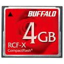 バッファロー コンパクトフラッシュ ハイコストパフォーマンスモデル 4GB RCF-X4G