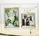 楽天ヒキタギフトセンタージュエリーチャーム ガラスフォトフレーム ガラス製写真立て 【ギフト ブライダル 結婚式引出物 結婚内祝 結婚祝い お祝い お返し 各種内祝 引出物 景品】