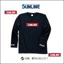 綿100%で着心地抜群です。 両袖に「SUNLINE」のロゴ入り。