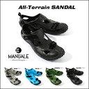 【あす楽対応】マヌアーレ オールテレイン サンダル全天候型 カラー:ブラックMANUALE ALL