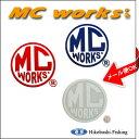 MCワークス MCworks丸ロゴデカール L サイズ 【メール便OKです】フィッシング 釣り具 用品 アクセサリー ステッカー ワッペン シール【RCP】