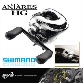 Shimano reels Shimano SHIMANO 12 Antares HG LEFT (left handle) 12 ANTARES HG LEFT fishing reel Bastille ( Baytril ).