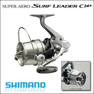 Shimano reels Shimano SHIMANO 13 Super Aero surf leader CI 4 + 30 (standard specification) SUPER AERO SURF LEADER CI 4 + 30 fishing reel spinning spinning